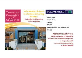 Business Breakfast in Association with Summerfield Deve...