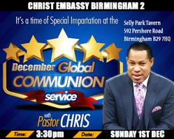 December 2013 Global Communion Service with Pastor...