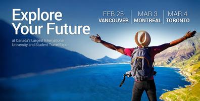 Study and Go Abroad Fair Vancouver - Spring 2018