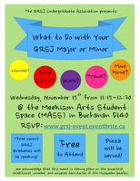 What to do With Your GRSJ Major/Minor