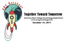 American River College Gerontology Department  logo