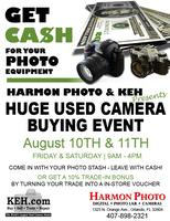 Cash for Used Cameras