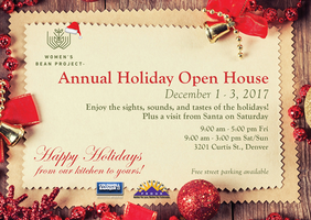 Women's Bean Project Annual 2017 Holiday Open House
