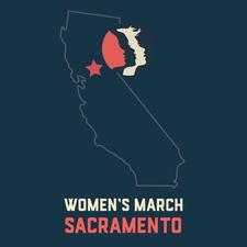 Women's March Sacramento  logo