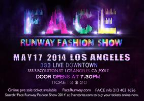 FACE RUNWAY FASHION SHOW 2014