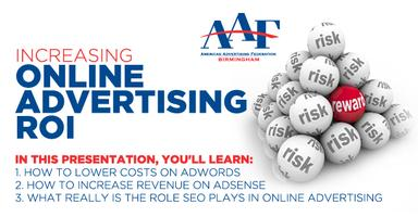 AAF Birmingham July Luncheon: Increasing Online...
