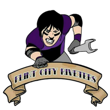 Flint City Riveters Women's Tackle Football Team logo