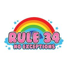 RULE 34 Club logo