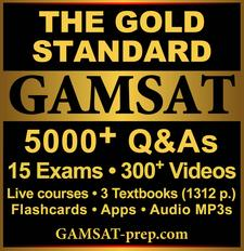 Gold Standard GAMSAT logo