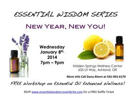 Essential Wisdom - New Year, New You!