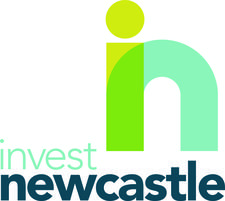 Invest Newcastle logo