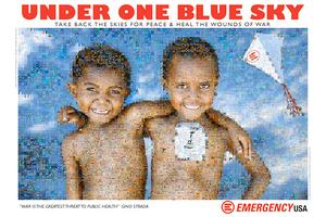 """Order """"Under One Blue Sky"""" Photo Mosaic Poster to..."""