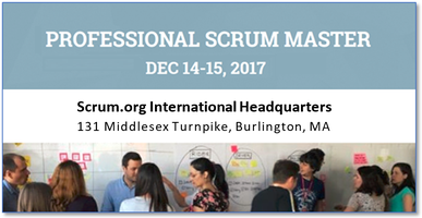 Professional Scrum Master (PSM) - at Scrum.org,...