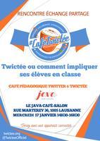 Café Pédagogique Twitter en classe & Twictée