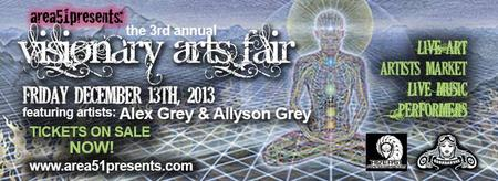 3rd Annual Visionary Arts Fair ft. Alex and Allyson...