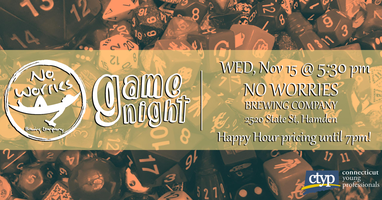 Game Night at No Worries Brewing Company