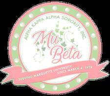 Alpha Kappa Alpha Sorority, Incorporated, Mu Beta Chapter logo