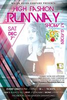 High Fashion Runway Show at Garden Presented By Malen R...