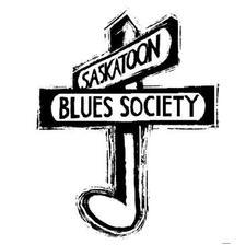 Saskatoon Blues Society logo