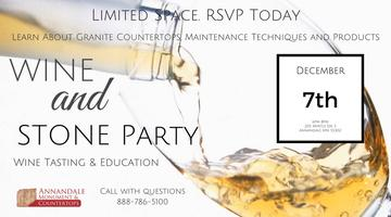 Wine and Stone Event