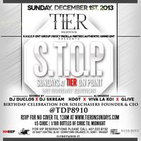 12.8.13 Sundays at Tier Nightclub