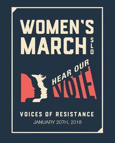 Women's March SLO logo