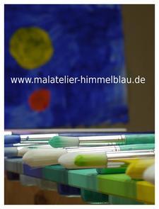 Malort und Malatelier Himmelblau logo