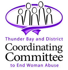 Thunder Bay and District Coordinating Committee to End Woman Abuse logo