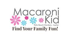 Macaroni Kid Palm Beach Gardens logo