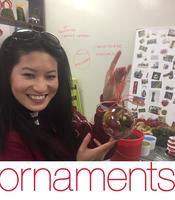 Terrarium Class: Holiday Ornaments