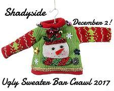 Shadyside Ugly Sweater Bar Crawl  logo