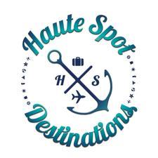Chelle Higgins of Haute Spot Destinations with Jenita Travels logo