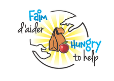 La Société Faim d'aider - The Hungry to Help Corporation logo