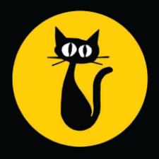 Black Cat LES logo