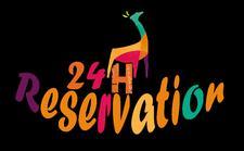 24 hour reservation  logo