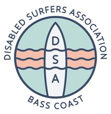 The Disabled Surfing Association - Bass Coast logo