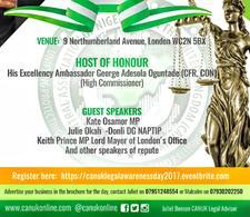 Central Association of Nigerians in the U.K. logo