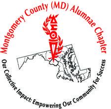 Montgomery County (MD) Alumnae Chapter of Delta Sigma Theta Sorority, Inc.  logo