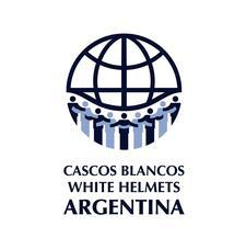 Cascos Blancos de la Cancillería Argentina y Dirección Nacional de Relaciones con la Comunidad del Ministerio del Interior, Obras Públicas y Vivienda logo