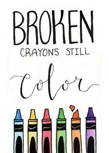 Broken Crayons Still Color - BCSC.Me logo