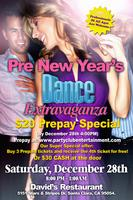 *Let's Celebrate At The Pre New Year's Dance Extravaganza!*