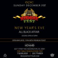 Reggae Fest New Year's Eve All Black Affair at The Howard Theatre