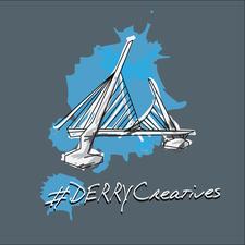 #DERRYcreatives logo