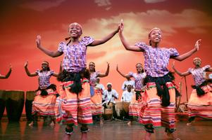 Spirit of Uganda 2014 at Carrington Hall, Sequoia High...