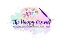 The Happy Canvas with Heather logo