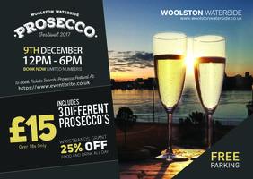 Prosecco Festival Woolston Waterside