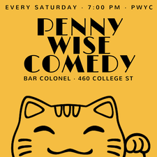 Penny Wise Comedy logo