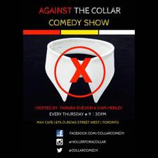 Against the Collar Comedy logo