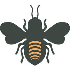 Bees in the D logo