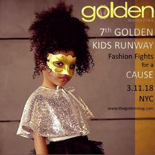 GOLDEN KIDS RUNWAY-Fashion Fights for a Cause logo